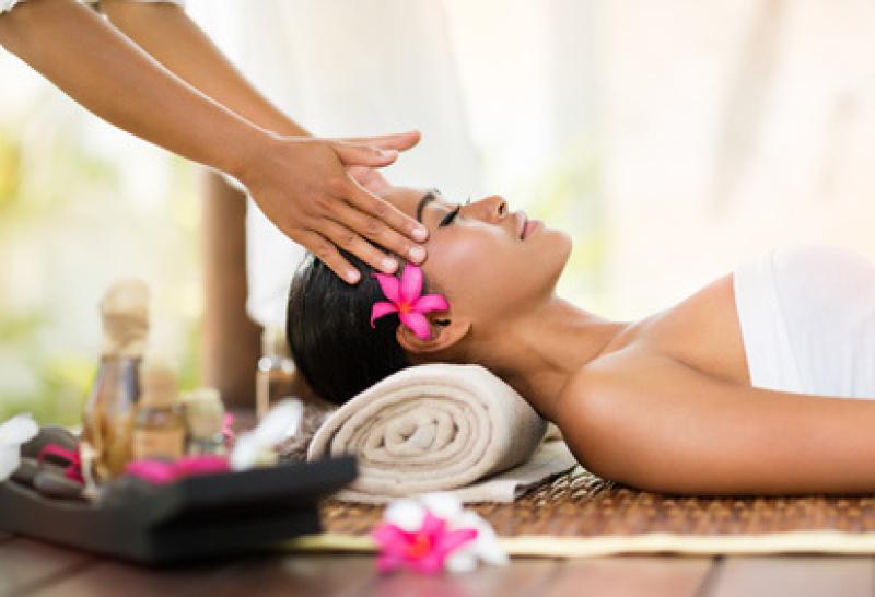 Thai Massage Kopfmassage